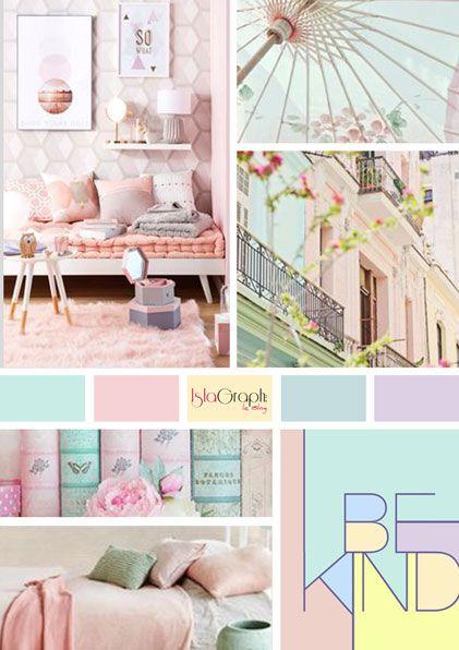 moodboard pastel. Black Bedroom Furniture Sets. Home Design Ideas