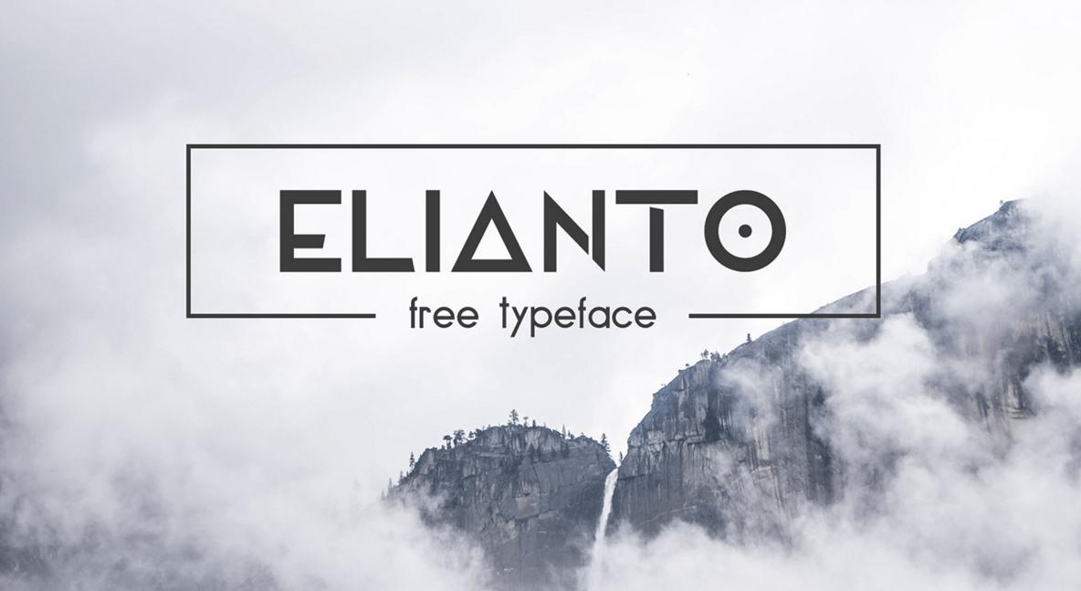 typographie_gratuite_elianto_islagraph