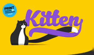 typographie_gratuite_kitten_islagraph
