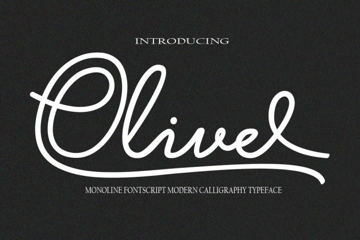 typographie_olivel_ressource_gratuite_islagraph