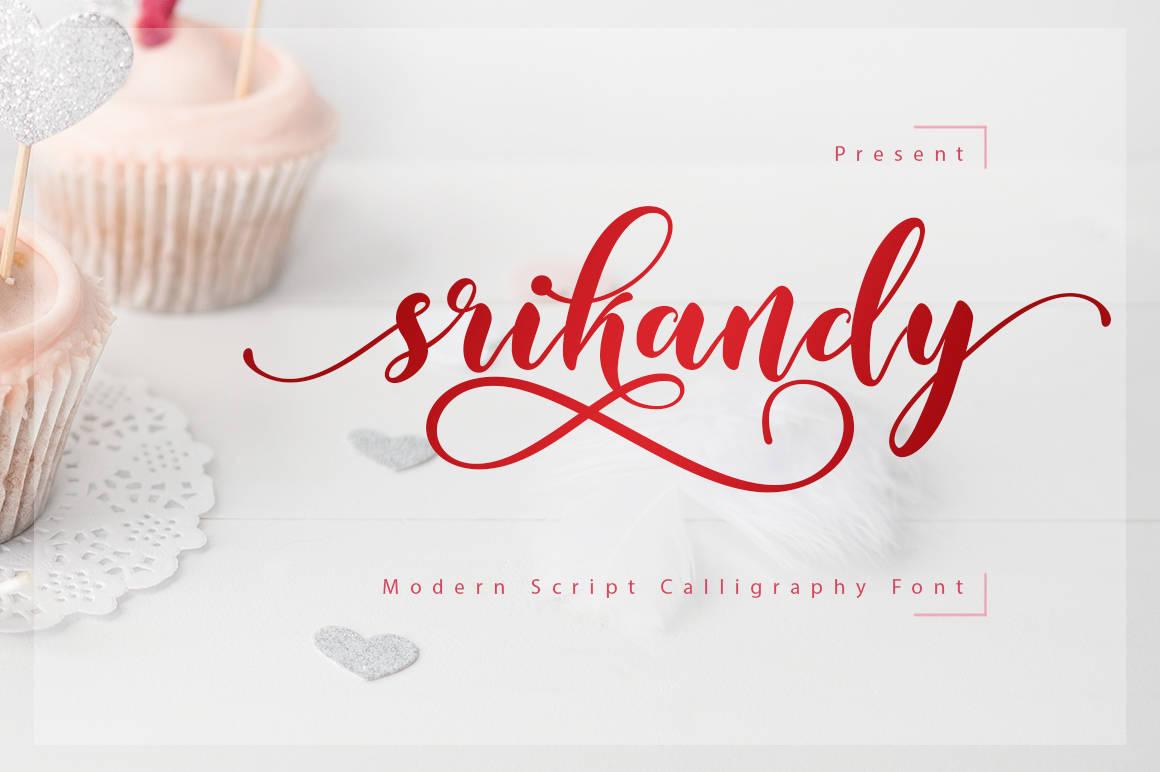 typographie_srikandy_gratuite_islagraph