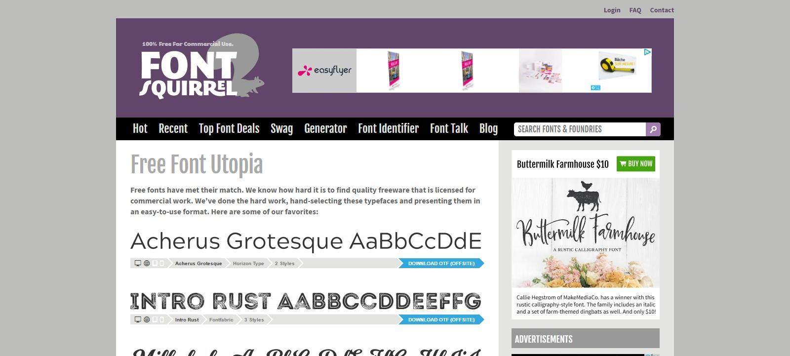 site_typographies_gratuite_fontsquirrel