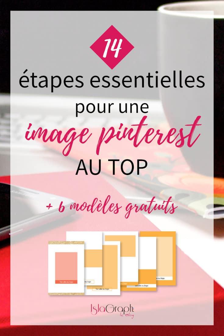 14 étapes essentielles pour créer une image Pinterest au top + 6 modèles gratuits