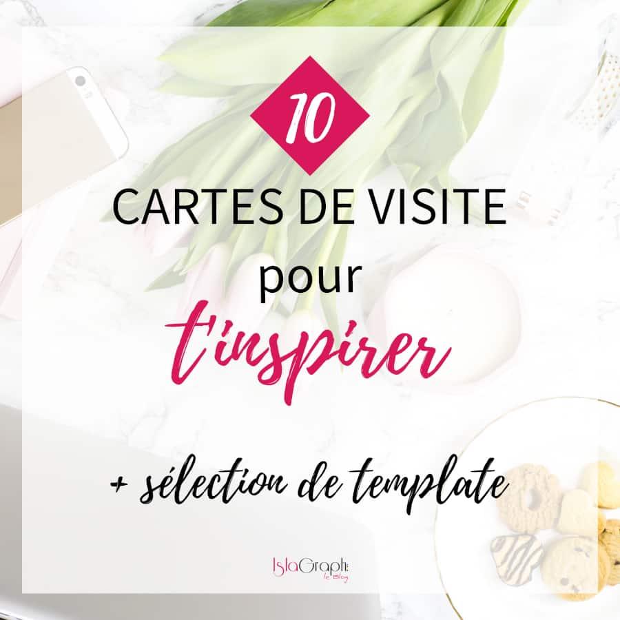 10 Cartes De Visites Pour Tinspirer