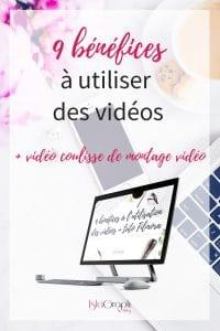 Vidéo : 9 avantages à l'utilisation des vidéos dans sa stratégie de communication + les coulisses de mes montages vidéos avec un outil simple !