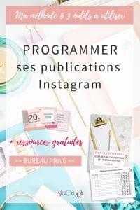 Tu veux être plus constante dans tes publications Instagram ? Programmer tes publications peut t'aider. Je t'explique comment je procède et te donne 3 outils à utiliser + ressources gratuites