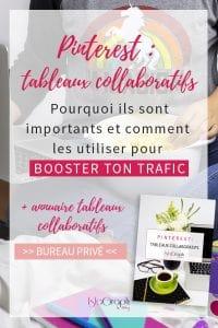 Tu souhaites booster ton trafic avec Pinterest ? Rejoins des tableaux collaboratifs ! Je t'explique tout + annuaire de tableaux collaboratifs francophones gratuit