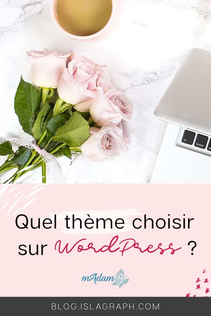 Tu ne sais pas comment choisir ton thème wordpress ? Je t'explique comment choisir + une checklist gratuite #blogging #wordpress #bloggingtips #astucewordpress