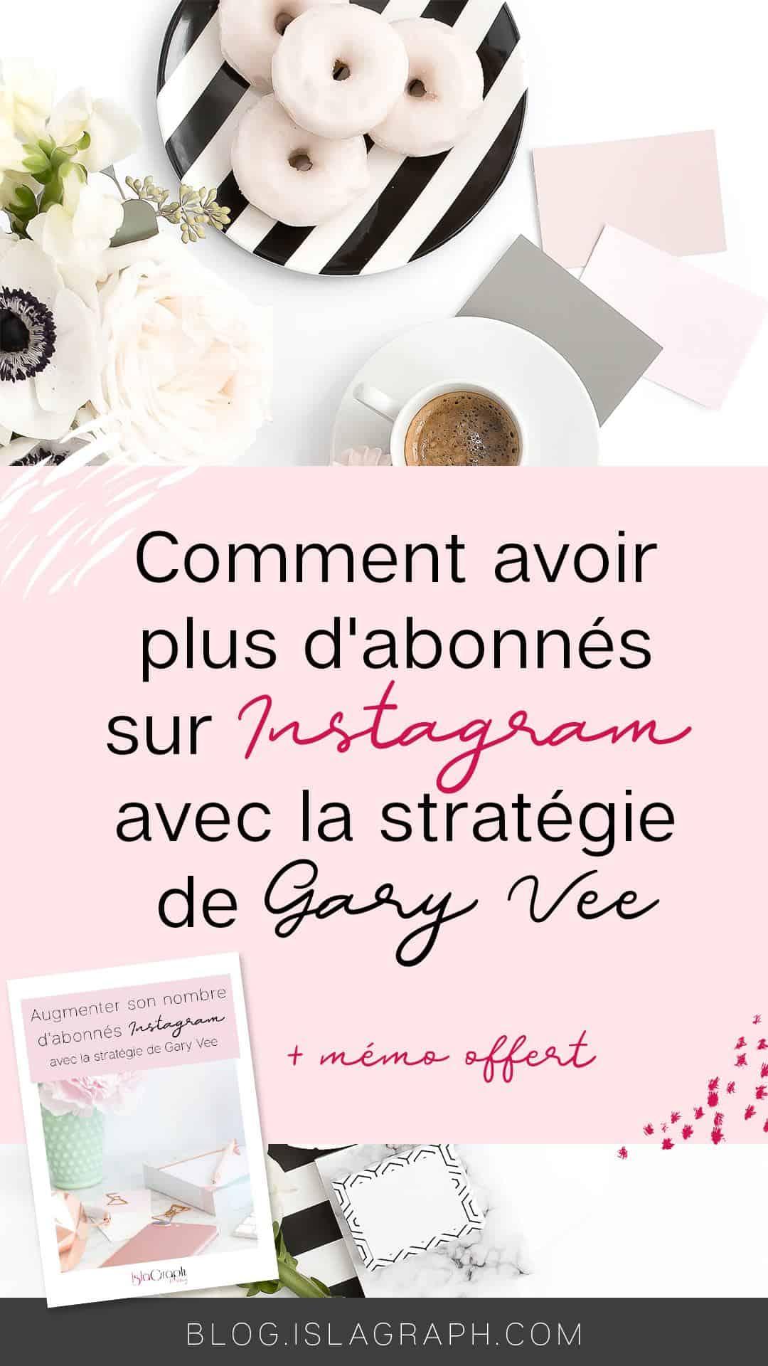 La stratégie dont je vais te parler aujourd'hui, est la stratégie que recommande Gary Vee pour augmenter son nombre d'abonné sur Instagram tout en se créant une communauté. Car oui, il est normal de vouloir grossir son compte, mais pas n'importe comment et surtout pas avec des mauvaises techniques.