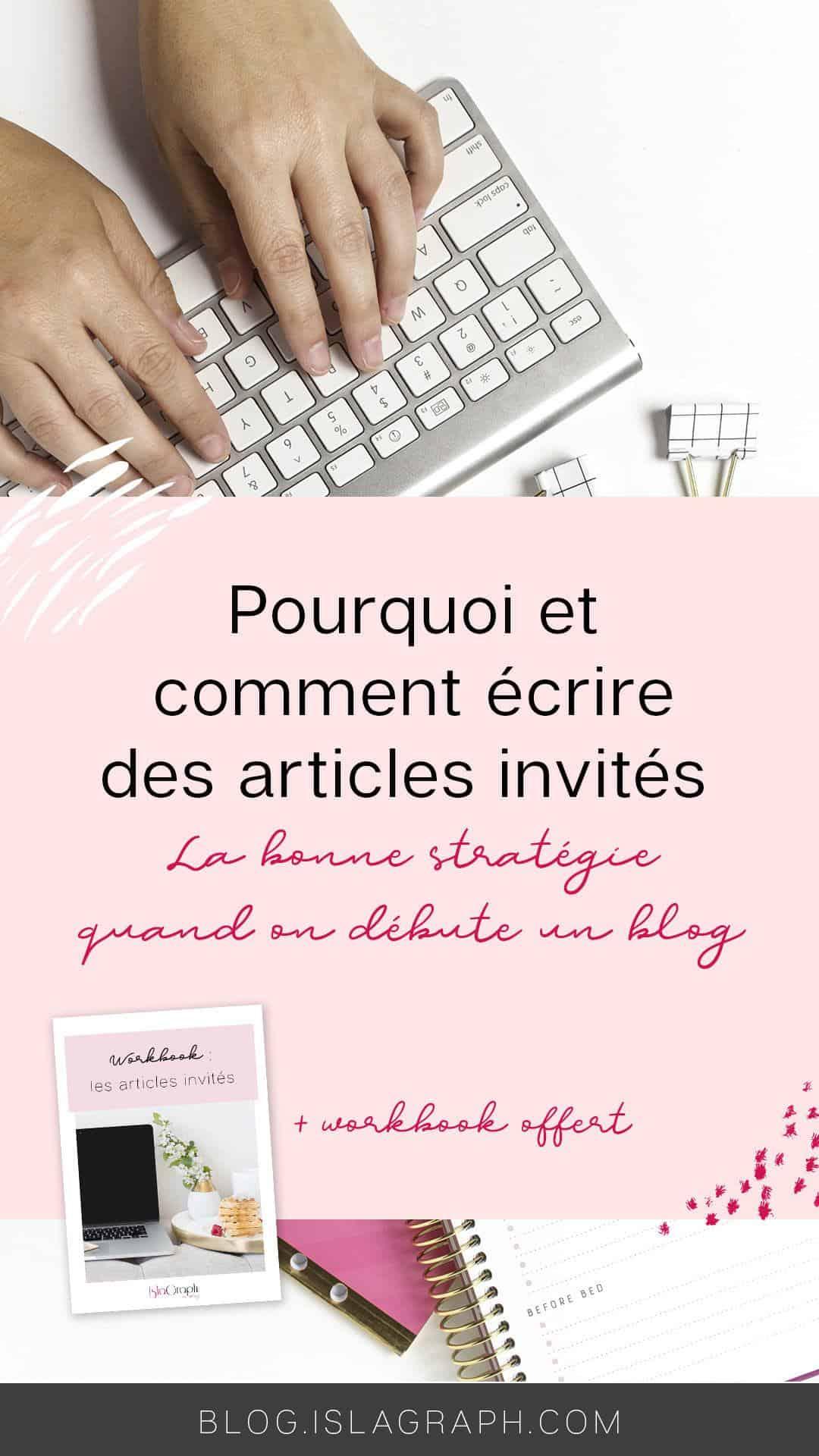 La rédaction d'article invité est une stratégie a adopter au plus tôt lorsque l'on commence un blog. Les bénéfices derrière cette stratégie sont nombreuse, mais souvent on ne sait pas réellement comment s'y prendre.