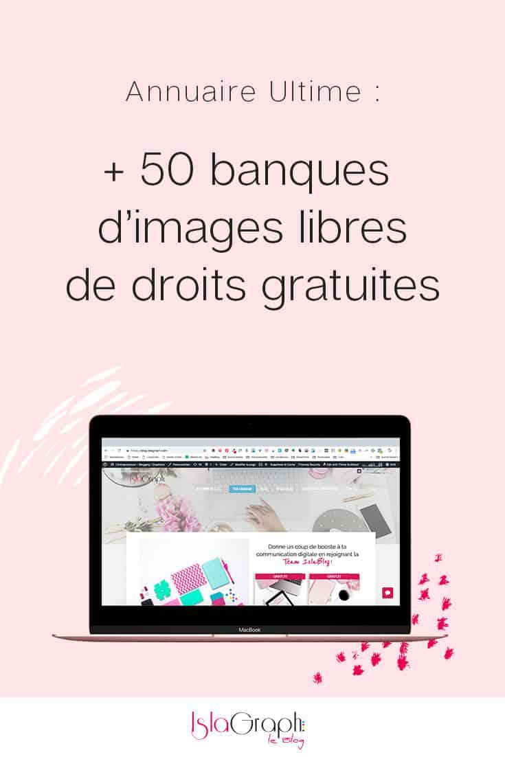 Découvre plus de 50 banques d'images libres de droits gratuites pour embellir tes réseaux sociaux et ton blog.