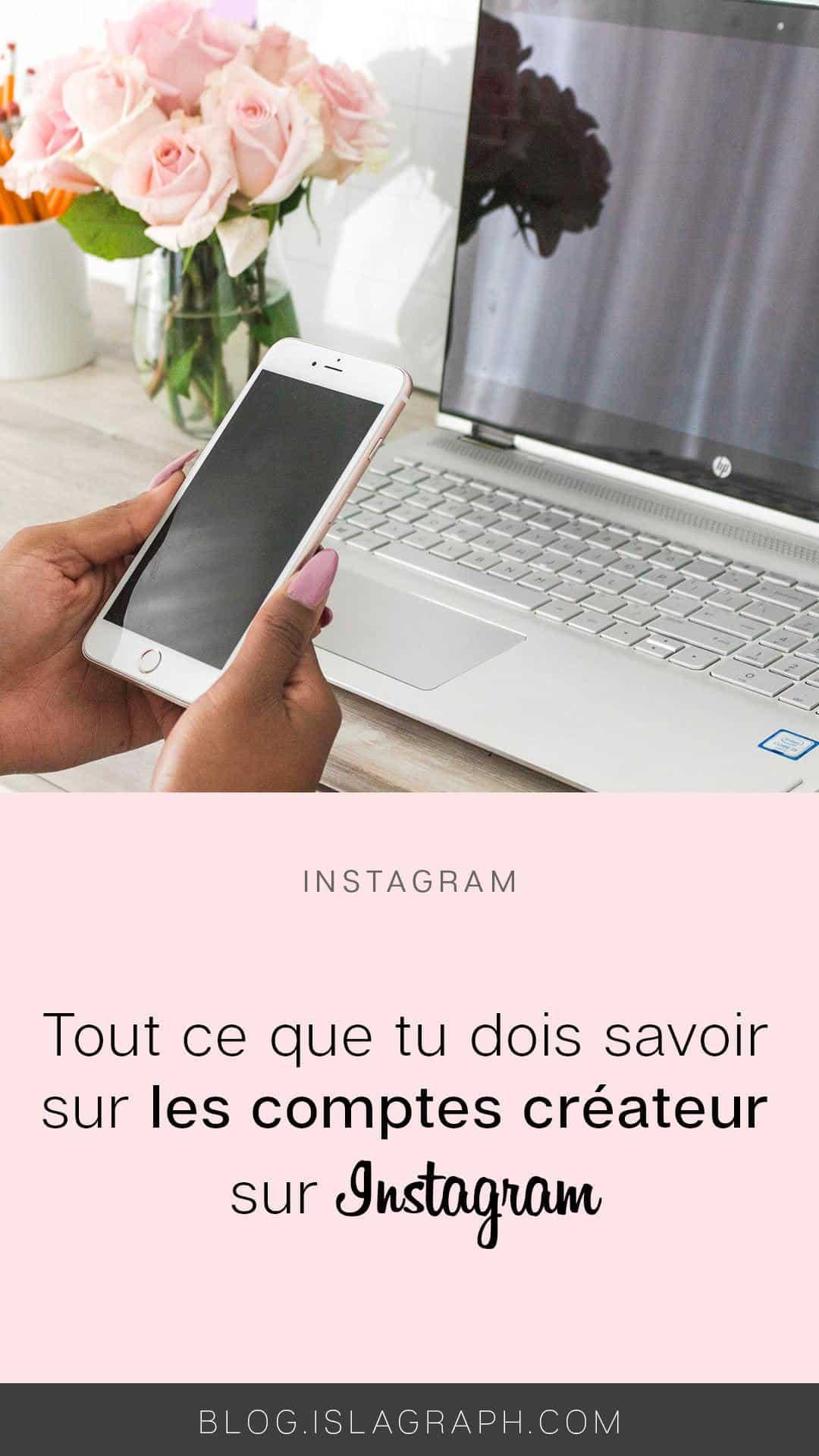 Tu as peut-être entendu parler d'un nouveau type de compte sur Instagram : le compte créateur. Mais qu'est-ce que peu apporter ce type de compte et est-ce qu'il est fait pour toi ?