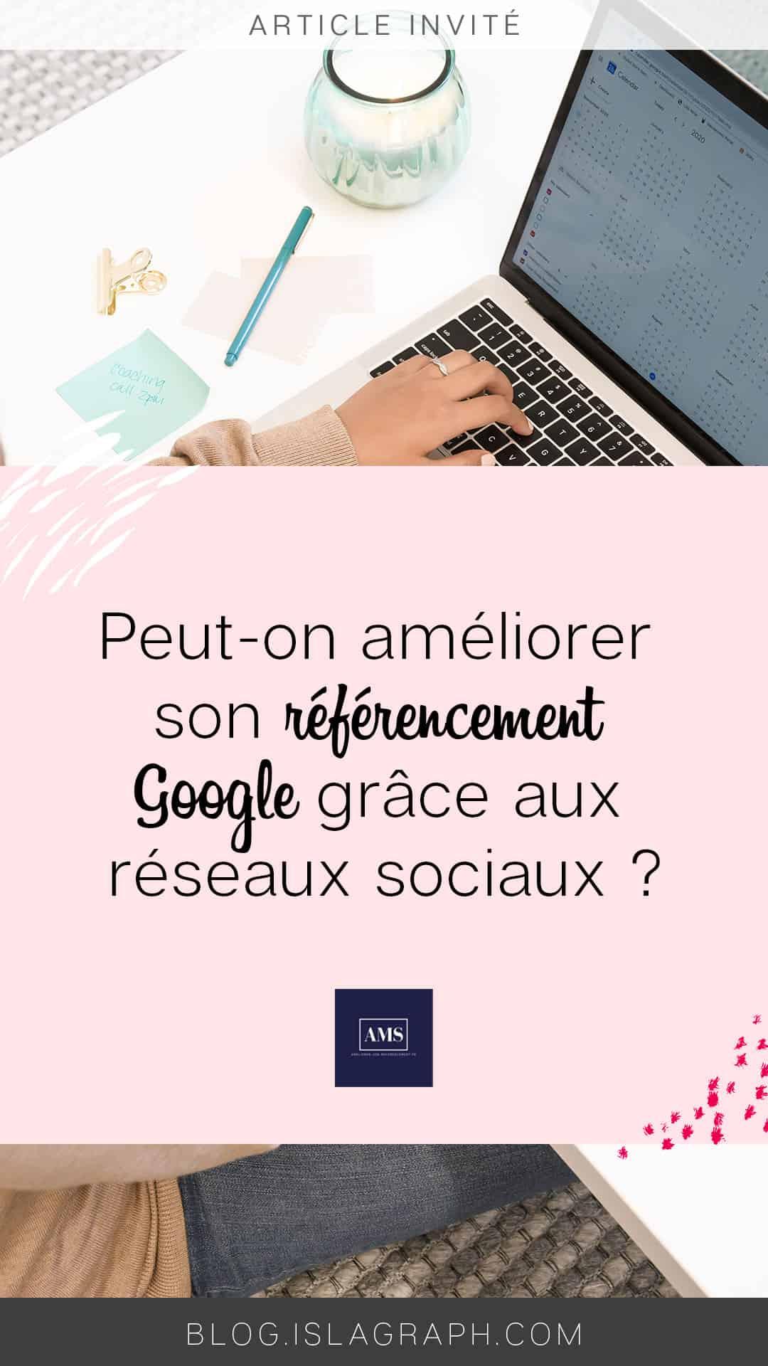 Peut-on améliorer son référencement Google grâce aux réseaux sociaux ? Si tu te poses la question, alors lis cet article ->