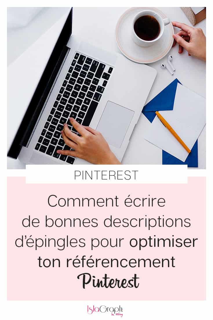 Descriptions épingles Pinterest