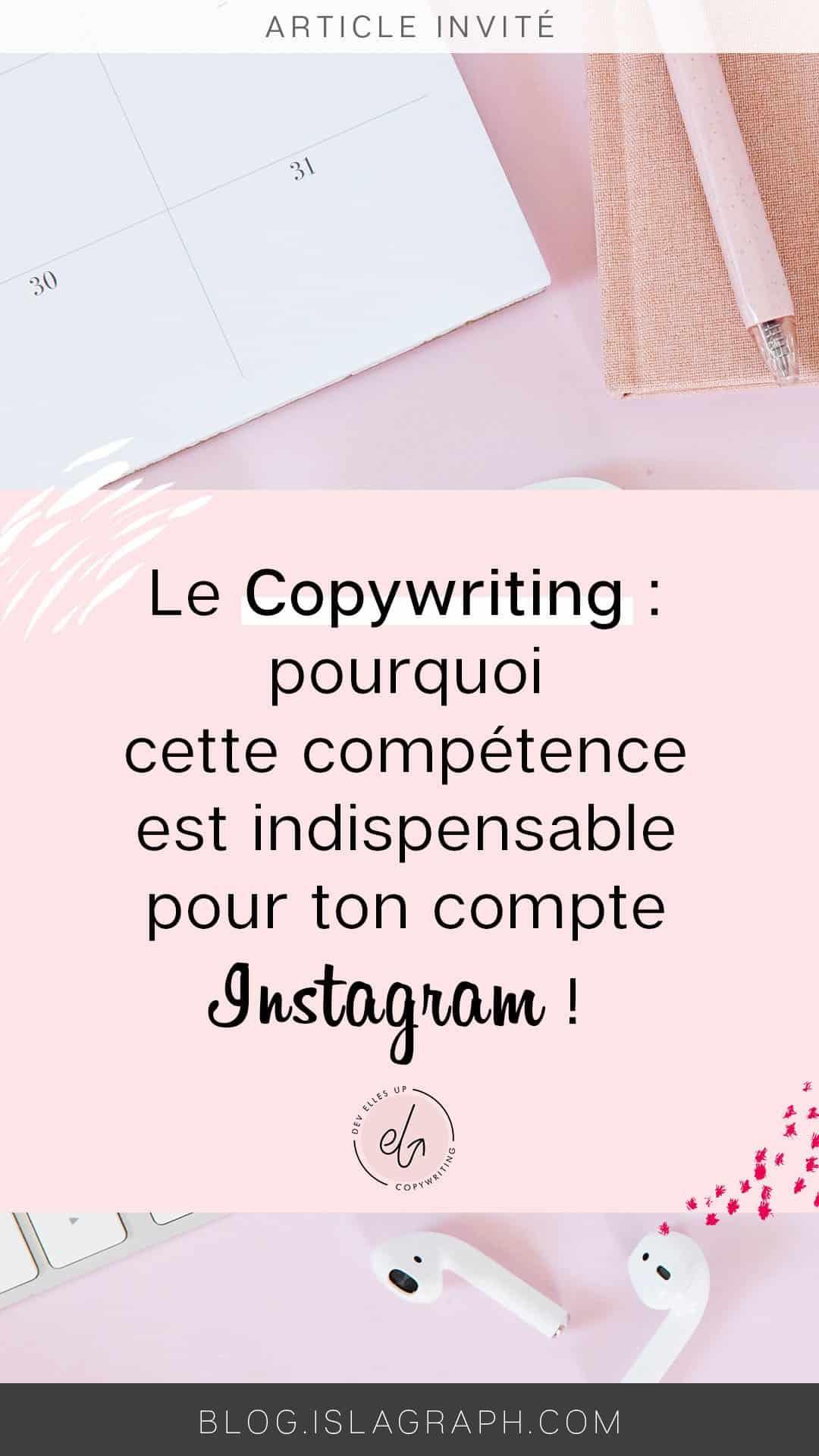 Copywriting sur Instagram